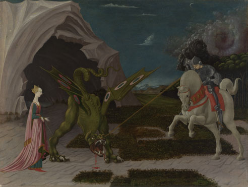 Paolo Uccello: 'Saint George and the Dragon'