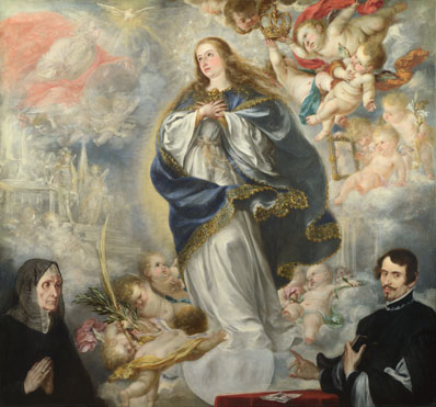 Juan de Valdes Leal: 'The Immaculate Conception with Two Donors'