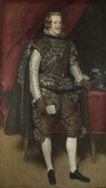 Diego Velázquez: 'Philip IV of Spain in Brown and Silver'