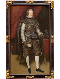 Velázquez, Philip IV of Spain in Brown and Silver, about 1631-2