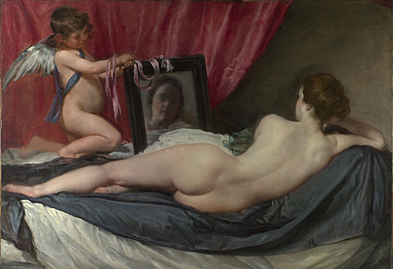 Velázquez, The Toilet of Venus ('The Rokeby Venus'), 1647-51