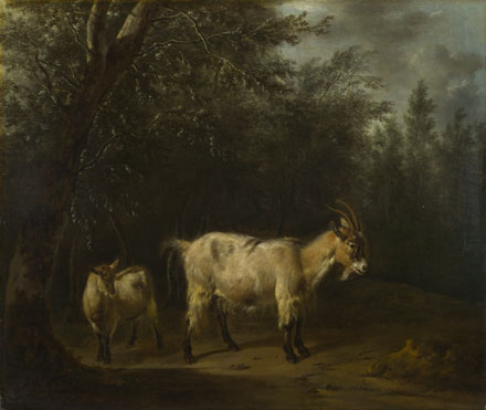 Adriaen van de Velde: 'A Goat and a Kid'