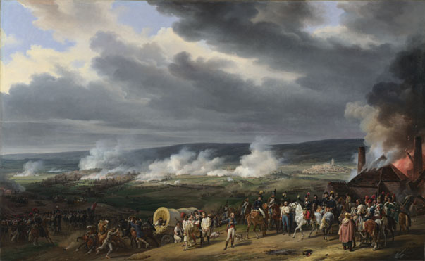 Emile-Jean-Horace Vernet: 'The Battle of Jemappes'