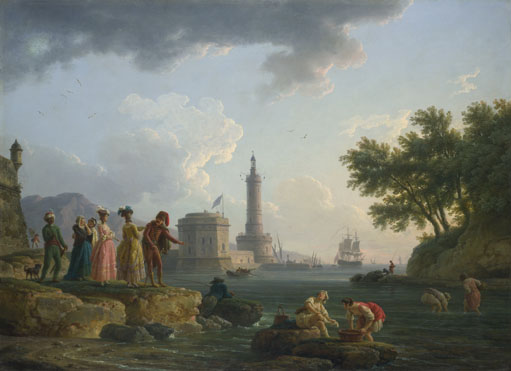 Claude-Joseph Vernet: 'A Sea-Shore'