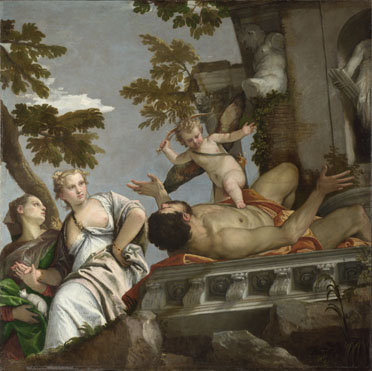 Paolo Veronese: 'Allegory of Love, II ('Scorn')'
