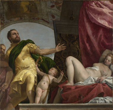 Paolo Veronese: 'Allegory of Love, III ('Respect')'