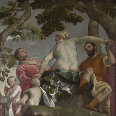 Paolo Veronese: 'Allegory of Love, I ('Unfaithfulness')'