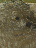 Detail from Workshop of Andrea del Verrocchio: 'Tobias and the Angel', about 1470-80