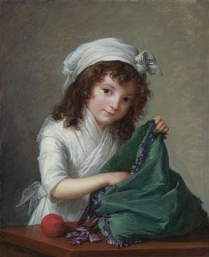 Elizabeth Louise Vigée Le Brun: 'Mademoiselle Brongniart'