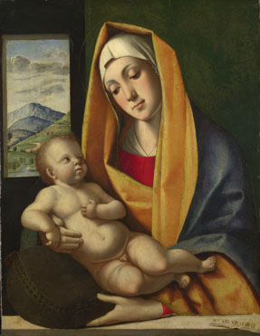 Alvise Vivarini: 'The Virgin and Child'