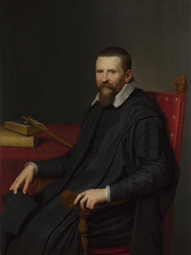 Willem van der Vliet: 'Portrait of Suitbertus Purmerent'