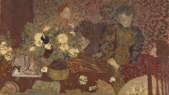 Edouard Vuillard: 'The Earthenware Pot'