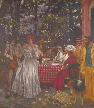 Edouard Vuillard: 'Lunch at Vasouy'