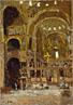 Interior of St Mark's, Venice