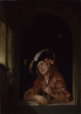 Adriaen van der Werff: 'A Boy with a Mousetrap'