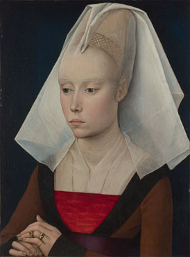 Workshop of Rogier van der Weyden: 'Portrait of a Lady'