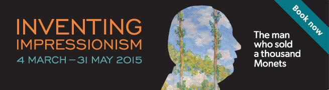Inventing Impressionism exhibition