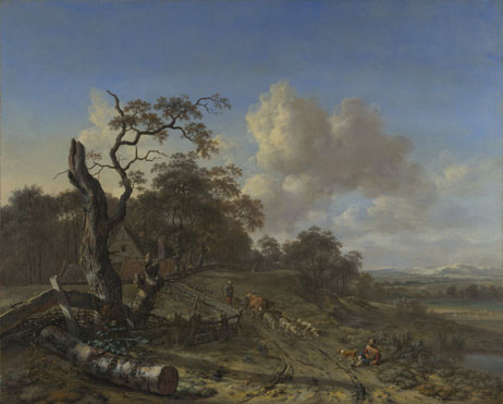 Jan Wijnants: 'A Landscape with a Dead Tree'