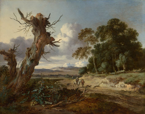 Jan Wijnants: 'A Landscape with Two Dead Trees'