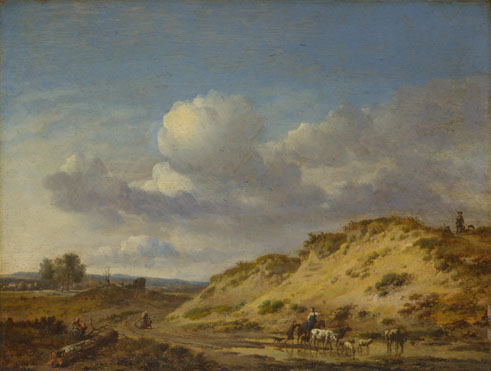 Jan Wijnants: 'Peasants driving Cattle and Sheep'