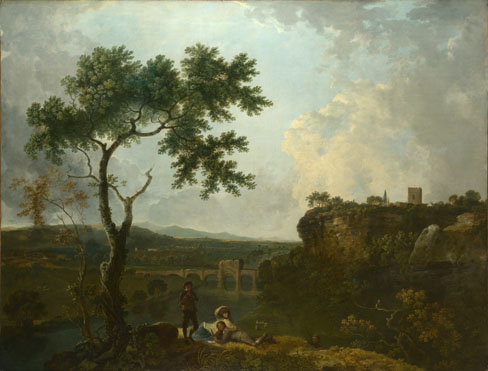 Richard Wilson: 'Holt Bridge on the River Dee'
