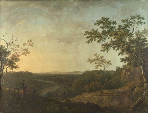 Richard Wilson: 'The Valley of the Dee, with Chester in the Distance'