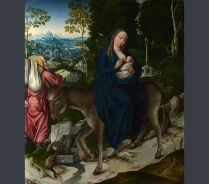 Workshop of the Master of 1518, 'The Flight into Egypt', about 1515