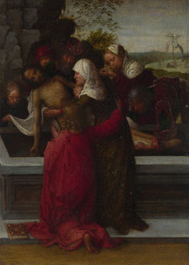 Style of Adriaen Ysenbrandt: 'The Entombment'