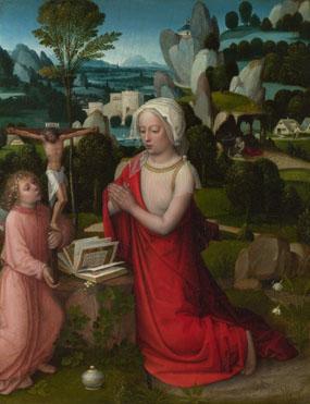 Adriaen Ysenbrandt: 'The Magdalen in a Landscape'