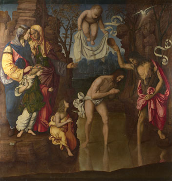 Francesco Zaganelli: 'The Baptism of Christ'