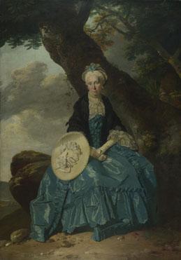 Johann Zoffany: 'Mrs Oswald'