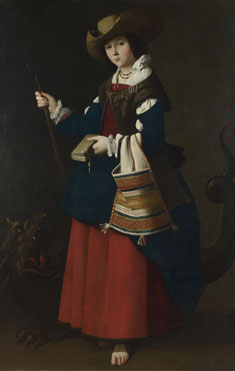 Francisco de Zurbarán: 'Saint Margaret of Antioch'